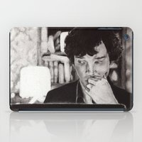 221b iPad Cases featuring Christmas at 221b by hislastbough