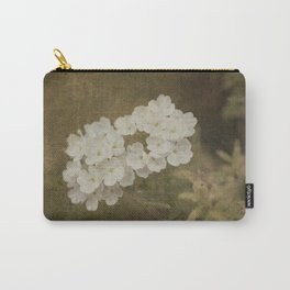 White little flowers Carry-All Pouch