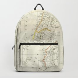 Map, Palestine, holy, land, syria, isreal, province, gaza, strip, jerusalem, Backpack