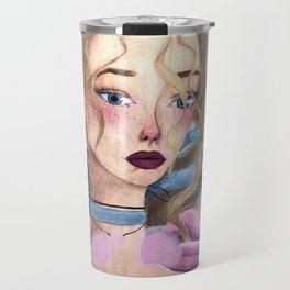 Rosy Rose Travel Mug