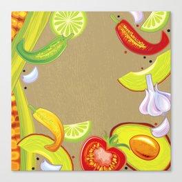 Taste of Mexico Canvas Print
