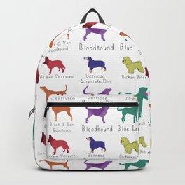 Dog breeds 2 Backpack