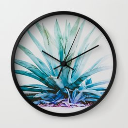 Agave Aura Wall Clock