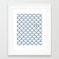 bear Framed Art Prints featuring The Last Polar Bear by John Tibbott