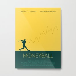 Moneyball Metal Print