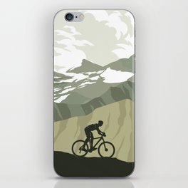 Trail Club III iPhone Skin