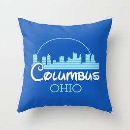 Columbus, Ohio Throw Pillow