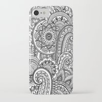 paisley iPhone & iPod Cases featuring Paisley by Emma Lin