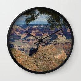 Battleship Rock, Grand Canyon NP, AZ -- Just after sunrise Wall Clock