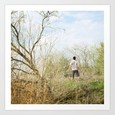 In the wild! Art Print