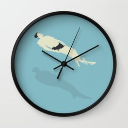 JUST FLOATING Wall Clock