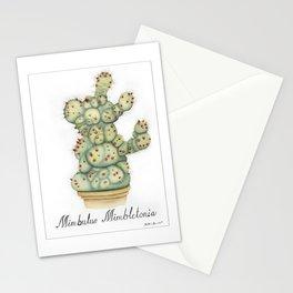 Mimbulus Botanical Art Stationery Cards