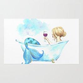 Bathtub Mermaid Rug