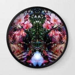 Lada, Goddess Of Spring Wall Clock