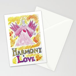 Angel of Harmony & Love Stationery Cards