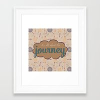 journey Framed Art Prints featuring Journey by Skuishy