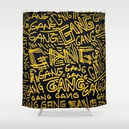 GANG (ENG) Shower Curtain