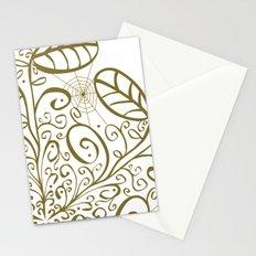 Ornato en sepia Stationery Cards