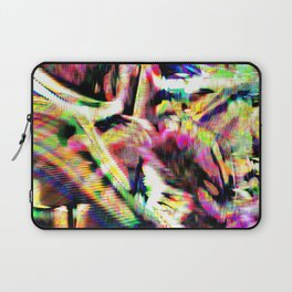 GLITCH3 - Donuts of the heart Laptop Sleeve