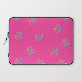 Old Fashion Pink Blouses Pattern Laptop Sleeve