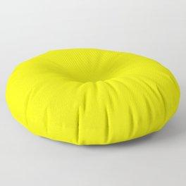 Fluorescent Yellow | Neon Yellow Floor Pillow