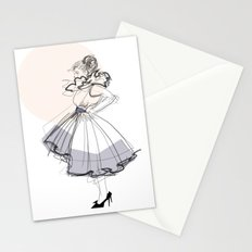 Poofy Dress Stationery Cards
