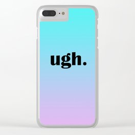 Mood Clear iPhone Case