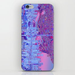 toronto city skyline iPhone Skin