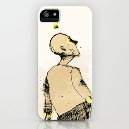 Zombie walk iPhone Case