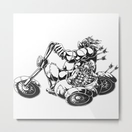 Flight of the FrankenJunkers Metal Print