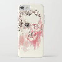 poe iPhone & iPod Cases featuring Poe by Elena López Macías