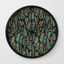 color garden Wall Clock
