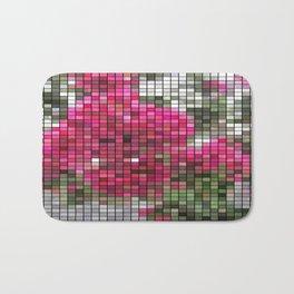 Crape Myrtle Mosaic Bath Mat