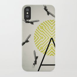 Flywheel (A is for Airplane) iPhone Case