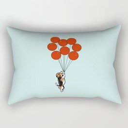 I Believe I Can Fly Beagle Rectangular Pillow