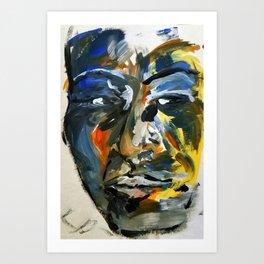 Black Strength Art Print
