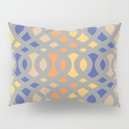 Swirl Crescent Pillow Sham
