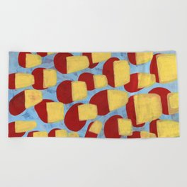 Knock Out Beach Towel