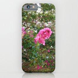 Crepe Myrtle V iPhone Case