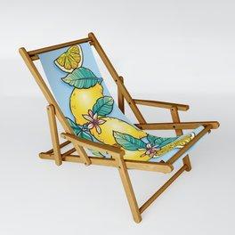Lemon Stack Sling Chair