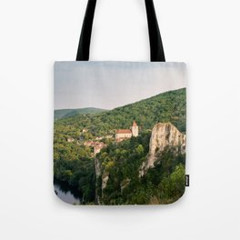 Saint Cirq Lapopie Tote Bag