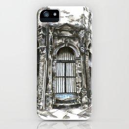 Marys Abbey Doorway iPhone Case