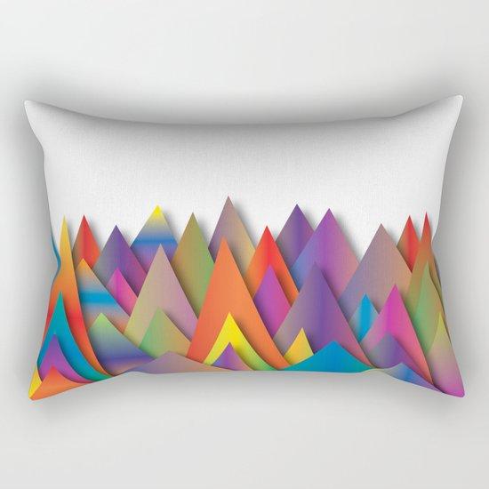 Mountains Of Harmoni Rectangular Pillow