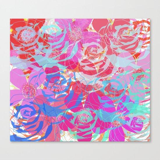 floral print 1 Canvas Print
