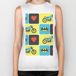The Bike & The Bat Biker Tank