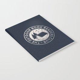 Outdoor Book Readers Club badge Notebook