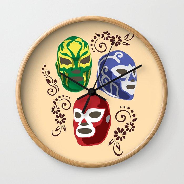 Máscaras Wall Clock