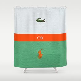 TENNIS or POLO Shower Curtain