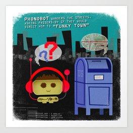 Phonobot - 02 Art Print