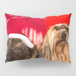 Merry Christmas and Happy New Year! Pillow Sham